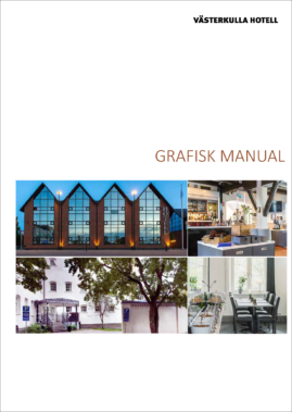 Västerkulla Hotell, Grafisk manual