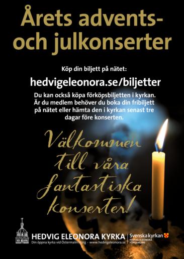 Affisch, Hedvig Eleonora