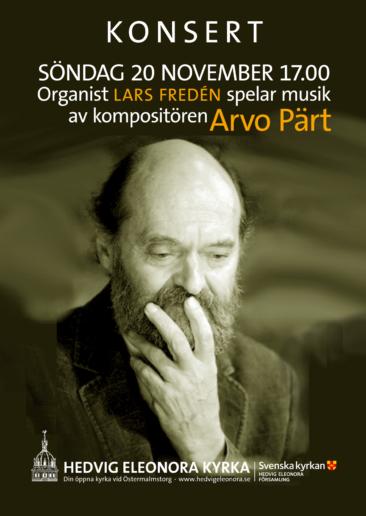 Affisch Arvo Pärt