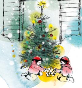 Julkort regeringskansliet