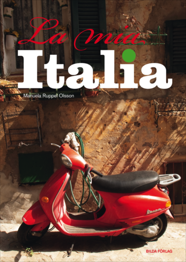 Omslag och inlaga La mia Italia, Bilda